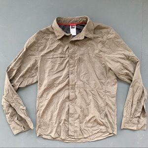 The North Face Mens Long Sleeve Vented Shirt Small